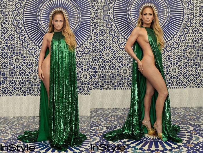 Jennifer Lopez made a surprise