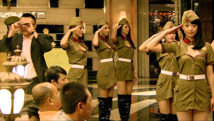 nude sexy Chinese soldiers