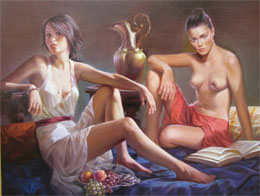 The best erotic artists. Drawing realistic erotic …