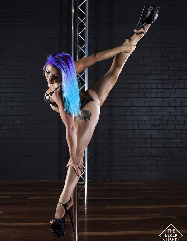 cute and sexy dancer