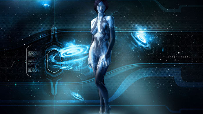 A Love Story. Cortana and Master Chief