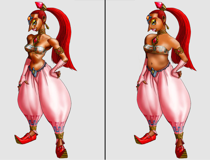 Nabooru is a female 3D sexy character